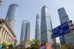 Shanghai torn Arkivbild