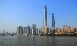 Shanghai torn Arkivfoton