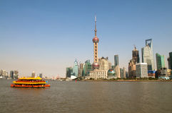 Shanghai tourism Royalty Free Stock Photo