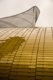 Shanghai Tower Perspective Royalty Free Stock Image