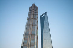 Shanghai Towers Royalty Free Stock Images
