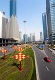 Shanghai Traffic building Stock Photos
