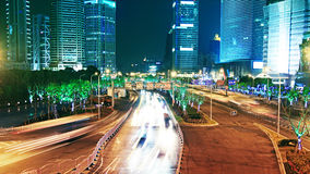 Shanghai trafic Royalty Free Stock Photography