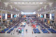 Shanghai Train Terminal Stock Photo