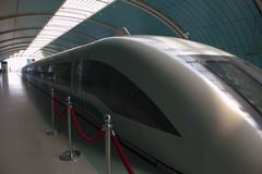 Shanghai Transrapid Stock Image