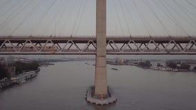 Shanghai tunnelbanalinje 5 stock video