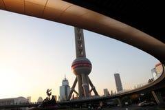 Shanghai TV Tower. stock image