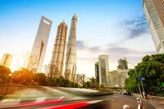 Shanghai ulicy Obraz Royalty Free