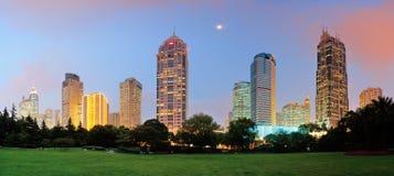 Shanghai urban architecture stock images