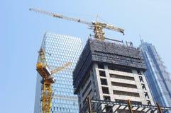 Shanghai Urban Construction Stock Image