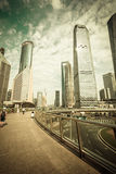 Shanghai Urban Construction, Pudong Stock Photography