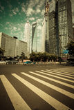Shanghai Urban Construction, Pudong Royalty Free Stock Images