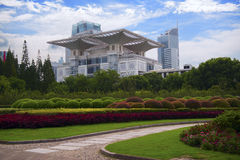 Shanghai Urban Exhibition Hall.  Royalty Free Stock Images