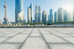 Shanghai  Urban landscape and modern architecture Royalty Free Stock Photo