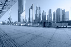 Shanghai  Urban landscape and modern architecture Royalty Free Stock Images