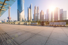 Shanghai  Urban landscape and modern architecture Stock Image