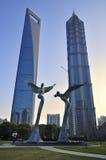 Shanghai Urban, Skyline Royalty Free Stock Image