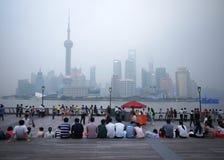 Shanghai Urban, Skyline Royalty Free Stock Photography