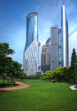 Shanghai Urban, Skyline Stock Image