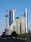 Shanghai Urban, Skyline Stock Images