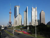 Shanghai Urban, Skyline Royalty Free Stock Image