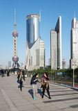 Shanghai Urban, Skyline Stock Photography
