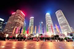 Shanghai urban skyscrapers Stock Image