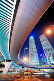 Shanghai urban street view Royalty Free Stock Photo