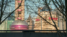 Shanghai VAN STAD royalty-vrije stock fotografie