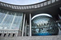 Shanghai vetenskap och teknikmuseum Arkivbild
