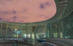 Shanghai vetenskap och teknikmuseum Kina Arkivbilder