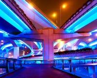 Shanghai viaduct Stock Photos