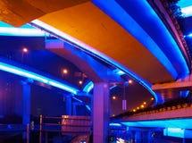 Shanghai viaduct Stock Photo