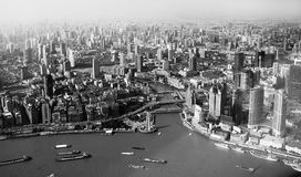Shanghai view Royalty Free Stock Image