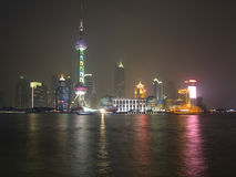 Shanghai view over Pudong area Stock Image