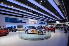 Shanghai Volkswagen paviljong Arkivbilder