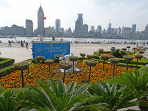 Shanghai waitan Royalty Free Stock Photography