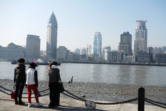 Shanghai waitan Stock Photo