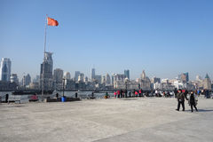 Shanghai waitan Stock Photography