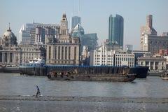 Shanghai waitan Lizenzfreies Stockbild