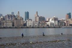 Shanghai waitan Lizenzfreie Stockbilder