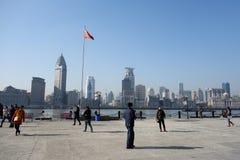 Shanghai waitan Stockfoto