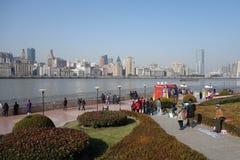 Shanghai waitan Stock Photo