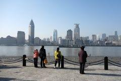 Shanghai waitan Royalty Free Stock Image
