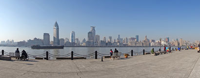 Shanghai waitan Royalty Free Stock Photo