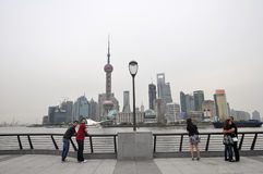 Shanghai waitan Royalty Free Stock Photography