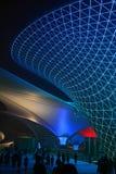 Shanghai-Weltausstellungs-Prachtstraßen-sonniges Tal stockbilder