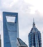 Shanghai-Weltfinanzzentrum Lizenzfreie Stockfotografie