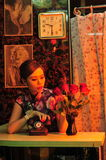 Shanghai woman royalty free stock photography