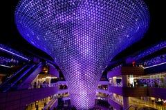 Shanghai World Expo Axis Sunbeam light show Stock Image
